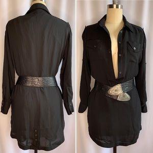 BCBGeneration Black Shirt Dress